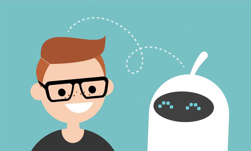 human bot