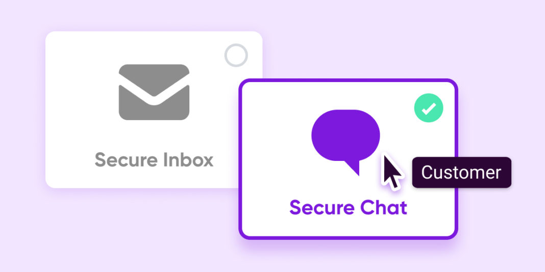 Can secure chat be a better customer experience than secure inbox?